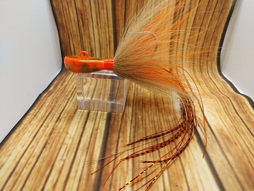 First Flight Orange & New Penny Cobia Jig