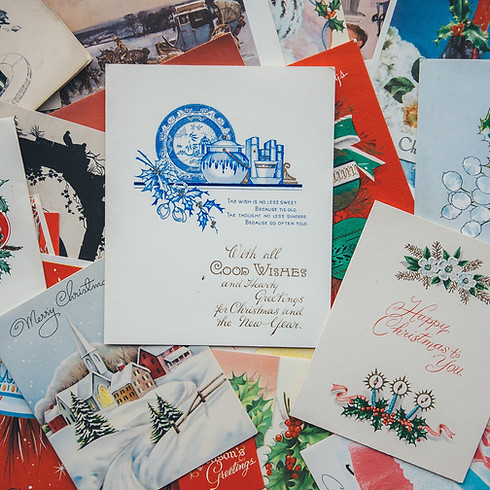 Christmas Cards in July