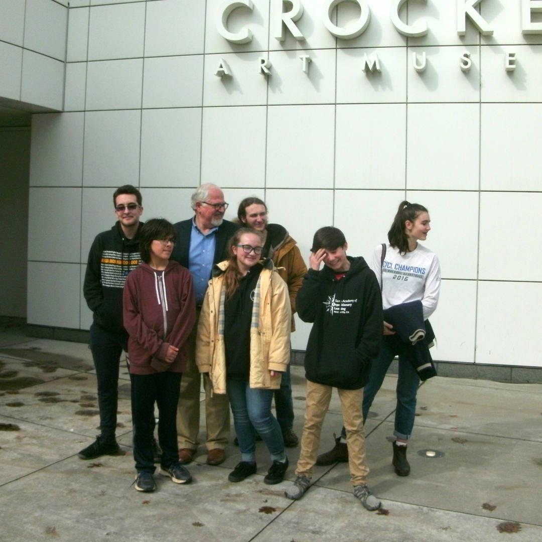 The Crocker Art Museum field trip 2019
