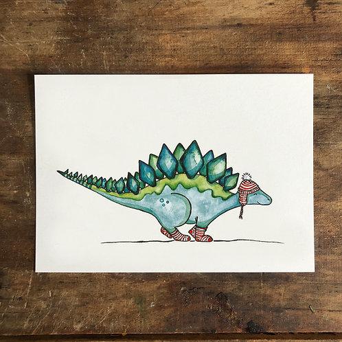 "Postkarte ""Sockendino"""