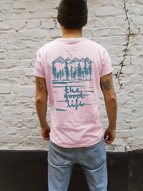 Good Life Shirt Fairtrade Lilac