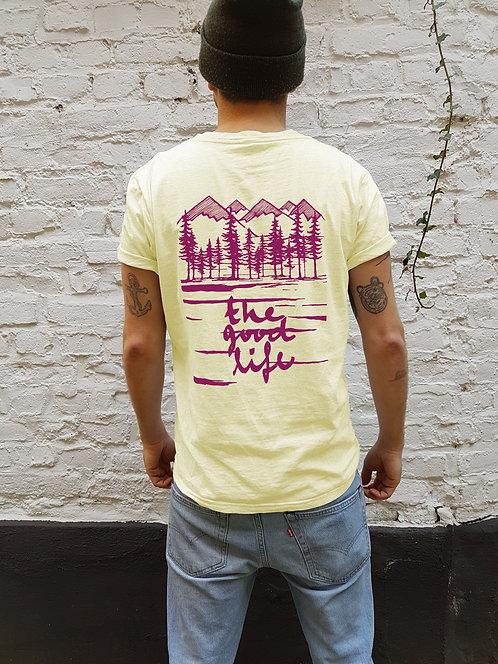 Good Life Shirt Fairtrade Lemon