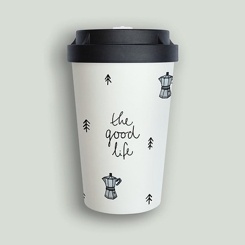 """""""Coffee and Pines"""" Coffee-to-go Becher Nachhaltig"""