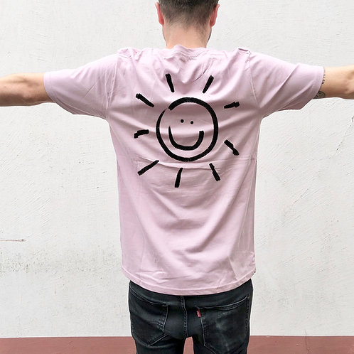 T-Shirt Purple Rose