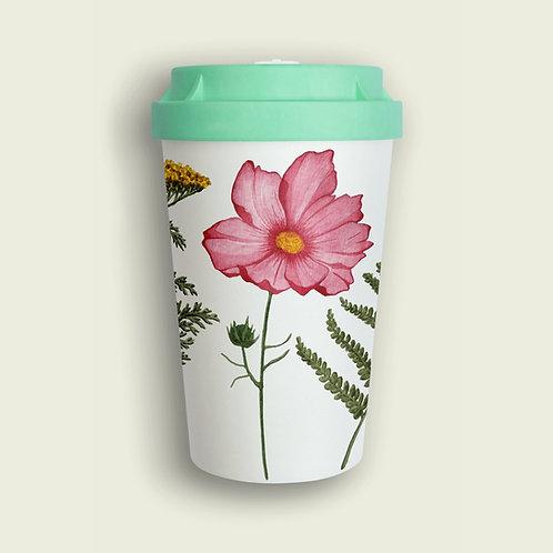 """""""Florals"""" Coffee-to-go Becher Nachhaltig"""