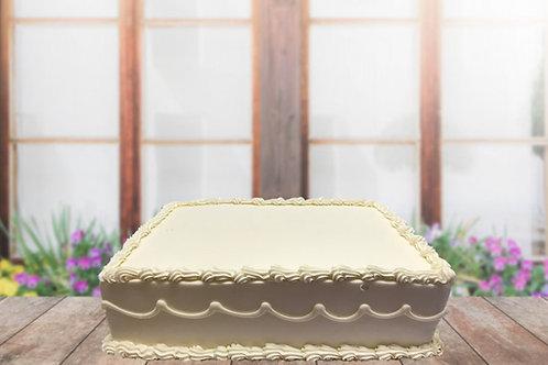 """Red Velvet 8"""" x 12"""" Cake"""