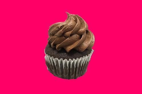 Regular Chocolate Gluten Free Cupcake