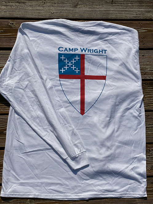 Long Sleeve Episcopal Shield Tee