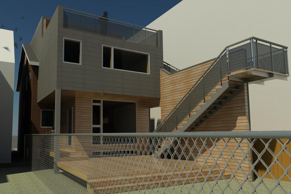 63galley 3d rendering
