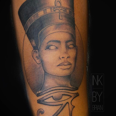 Egyptian Tattoo By Brian At Fine Ink Stu