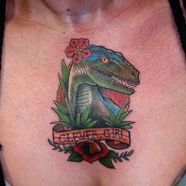 Jurassic Park Tattoo By Jeremy At Fine I