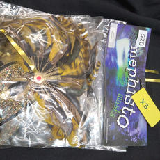 yellow packaged x3 masks