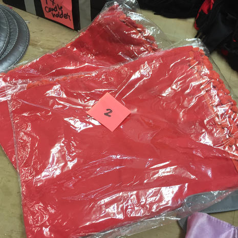Red Sarongs (X2)
