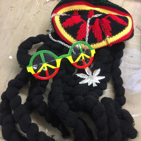 Rasta dress-up