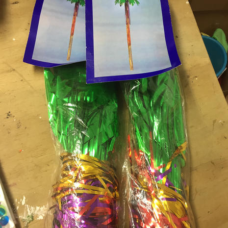 Foil Palm Tress (X2)