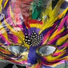 Multi Feather Mask
