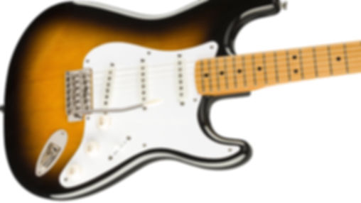 MUSICIANS 1ST CHOICE SQUIER BY FENDER STRATOCASTER