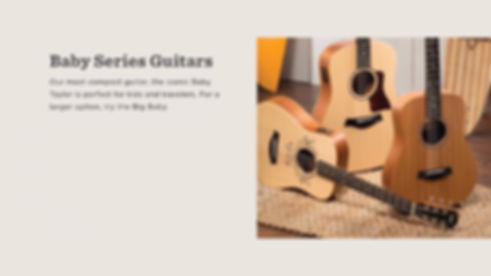 MUSICIANS 1ST CHOICE TAYLOR BABY SERIES GUITARS