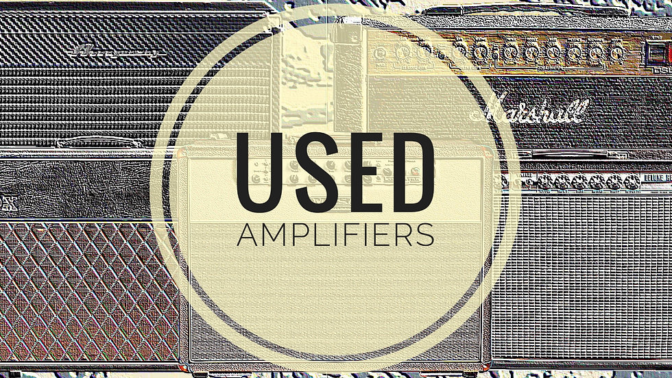 MUSICIANS 1ST CHOICE USED AMPLIFIERS