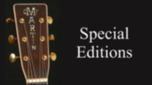 MUSICIANS 1ST CHOICE MARTIN SPECIAL EDITIONS