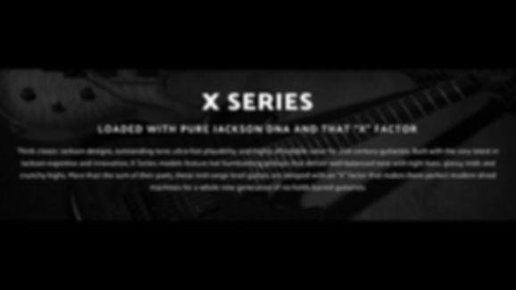 MUSICIANS 1ST CHOICE JACKSON X SERIES