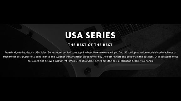 MUSICIANS 1ST CHOICE JACKSON USA SERIES