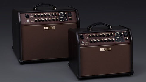 MUSICIANS 1ST CHOICE BOSS ACOUSTIC AMPLIFIERS