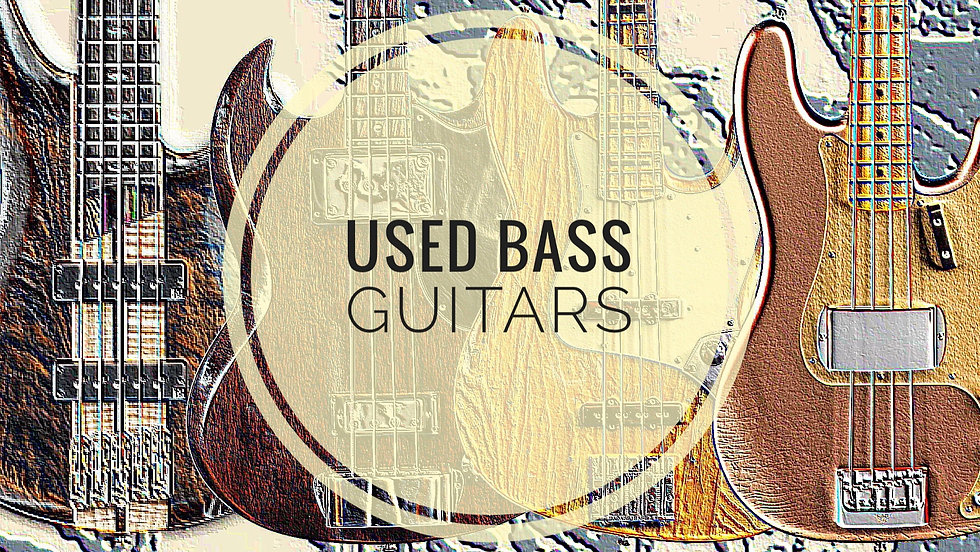 MUSICIANS 1ST CHOICE USED BASS GUITARS