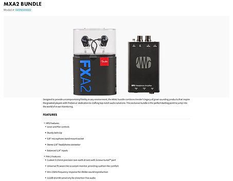 MXA2 Bundle - $299.99