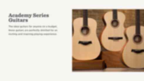 MUSICIANS 1ST CHOICE TAYLOR ACADEMY SERIES GUITARS