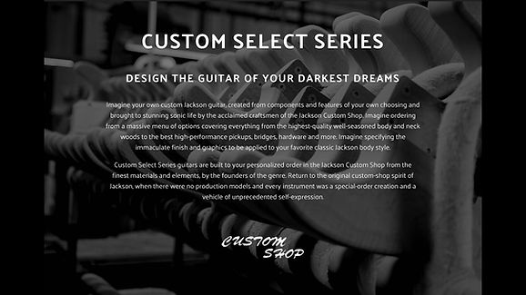 JACKSON CUSTOM SELECT SERIES