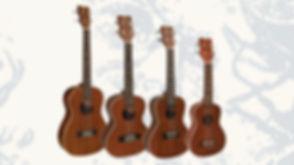 MUSICIANS 1ST CHOICE KOHALA UKULELES