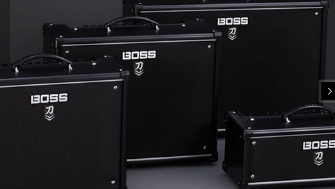 MUSICIANS 1ST CHOICE BOSS GUITAR AMPLIFIERS