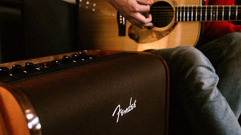 MUSICIANS 1ST CHOICE FENDER ACOUSTIC AMPLIFIERS