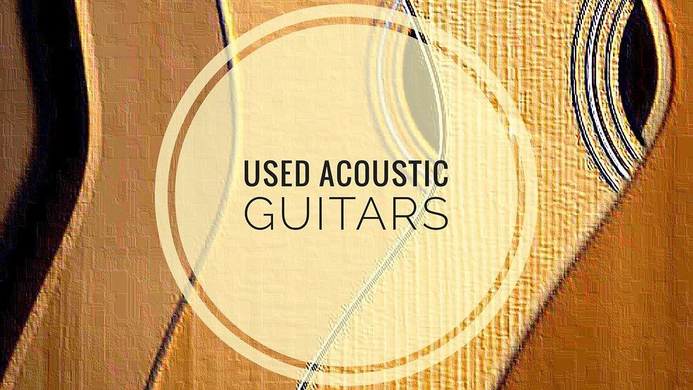 MUSICIANS 1ST CHOICE USED ACOUSTIC GUITARS