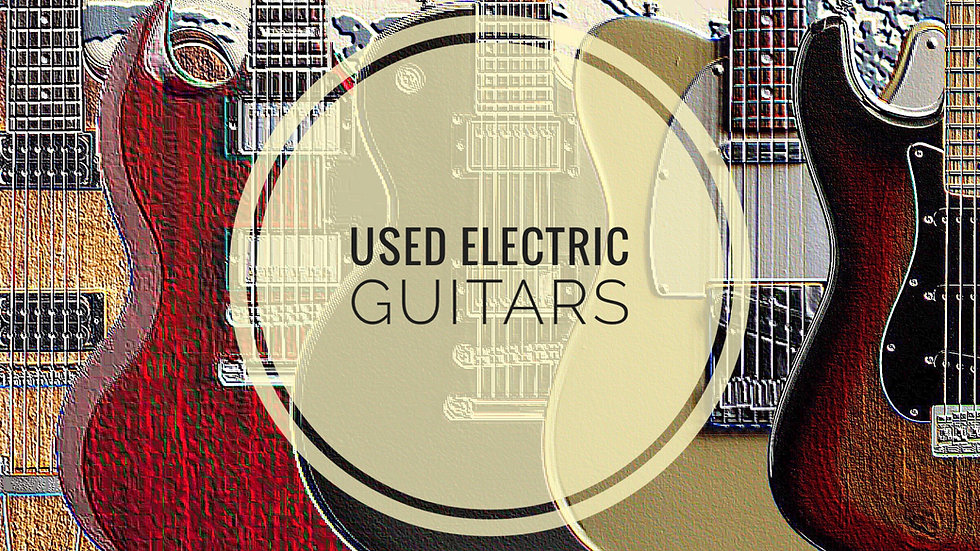 MUSICIANS 1ST CHOICE USED ELECTRIC GUITARS