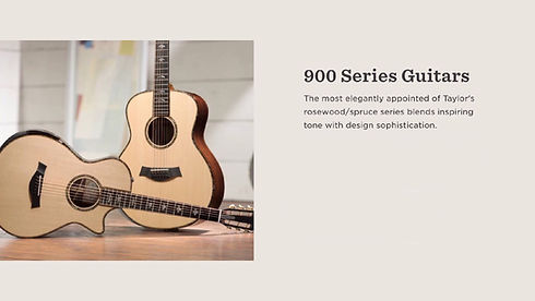 MUSICIANS 1ST CHOICE TAYLOR 900 SERIES GUITARS