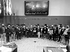 Câmara de Porto Alegre homenageia 50 anos da Agapan