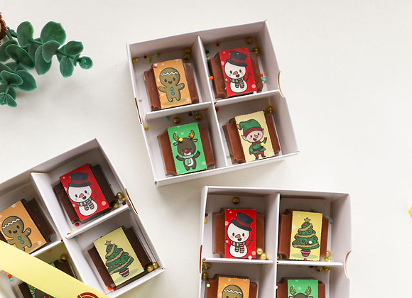 CHRISTMAS Gift Box of 4