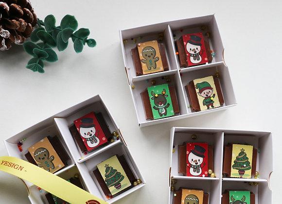 CHRISTMAS Gift Box of 4