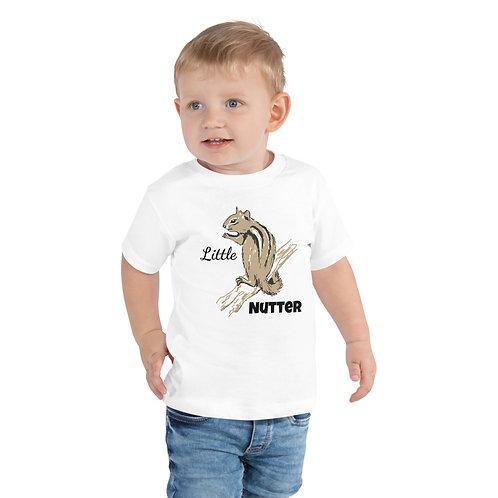 Little Nutter Chipmunk Toddler Short Sleeve Tee