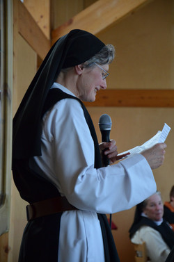 The Sister Newly Solemn Professed