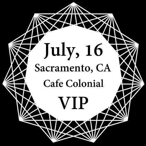 VIP Ticket for Sacramento 2018.