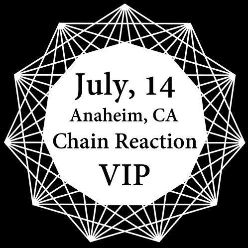 VIP Ticket for Anaheim 2018.