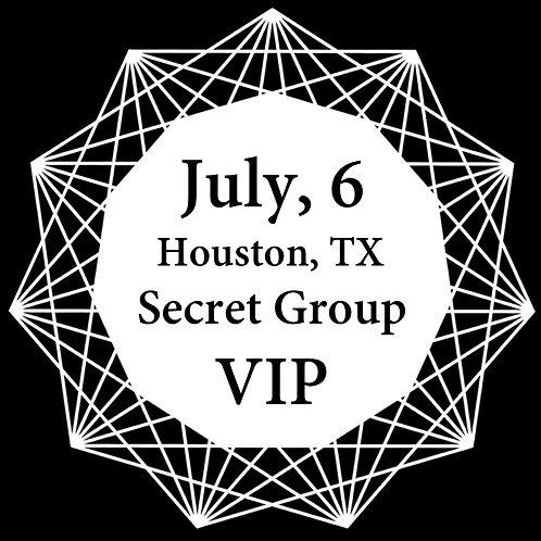 VIP Ticket for Houston 2018.