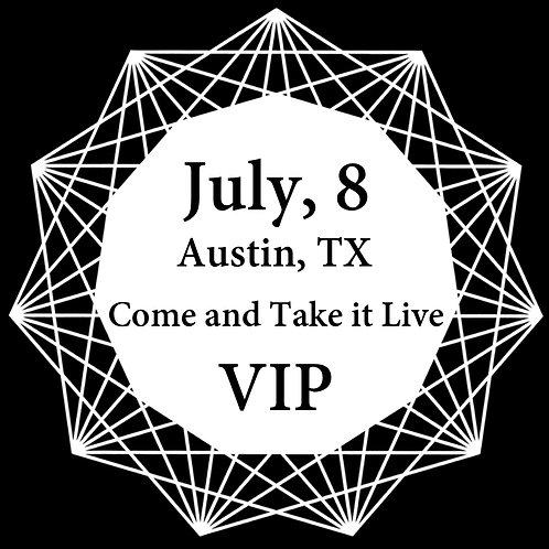 VIP Ticket for Austin 2018.