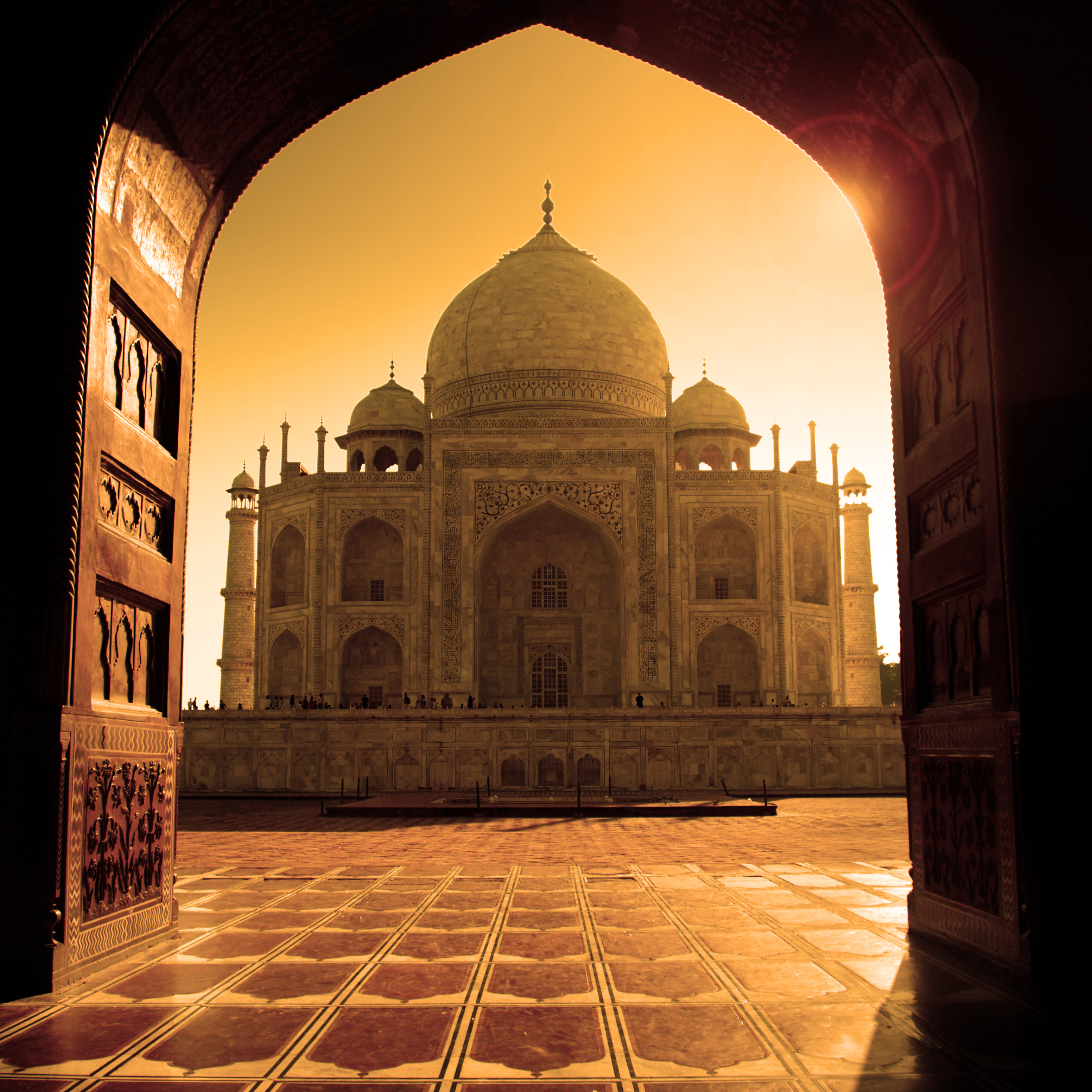 Agra - Taj Mahal 1