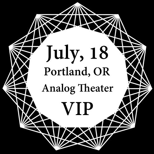 VIP Ticket for Portland 2018.