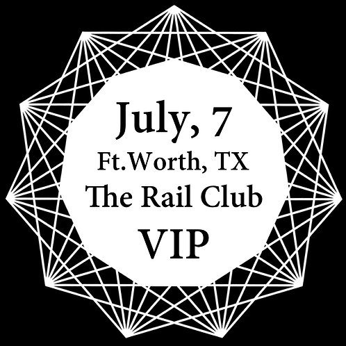 VIP Ticket for Ft.Worth 2018.