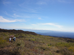 Volcan chico view
